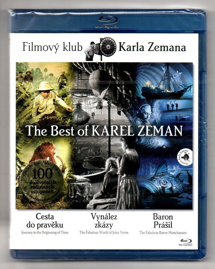 The Best of Karel Zeman (Cesta do pravěku, Baron Prášil, Vynález zkázy) BLU-RAY remaster