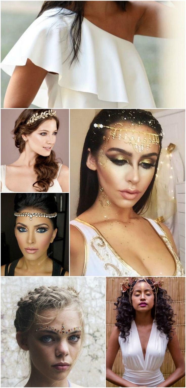 Fantasia de Carnaval de Deusa Grega