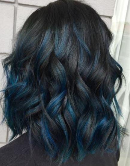 Hair Colour Concepts For Brunettes Brief Ombre Dip Dye 42 Concepts