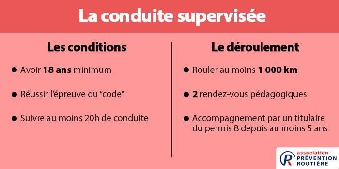 Conduite supervisée (France)