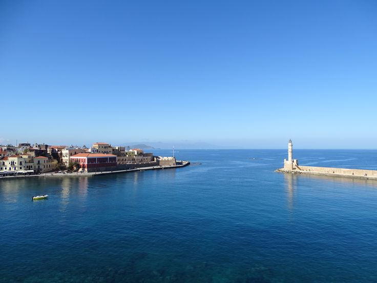 Chania Greece old harbor
