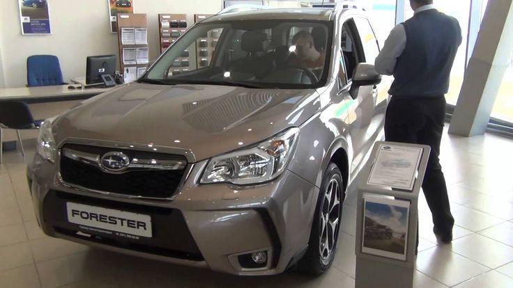 Subaru в России. «Золотой Клаксон» Subaru Forester.
