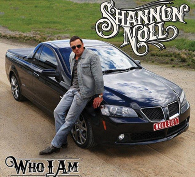 Shannon Noll pays tribute to viral fame in 'bogan' style album cover