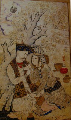 A daily aesthetic promenade: The poetic painting of the Islamic world: a neglected art