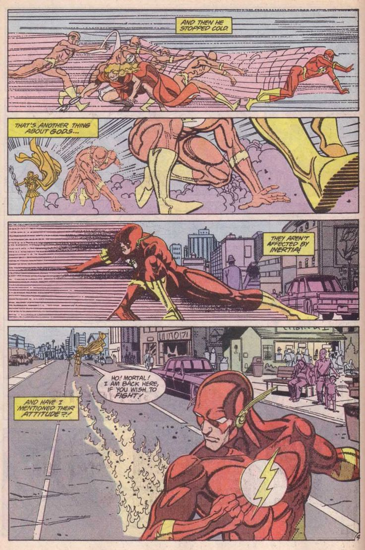 THE FLASH Comic Strip - See best of PHOTOS of the DC Hero