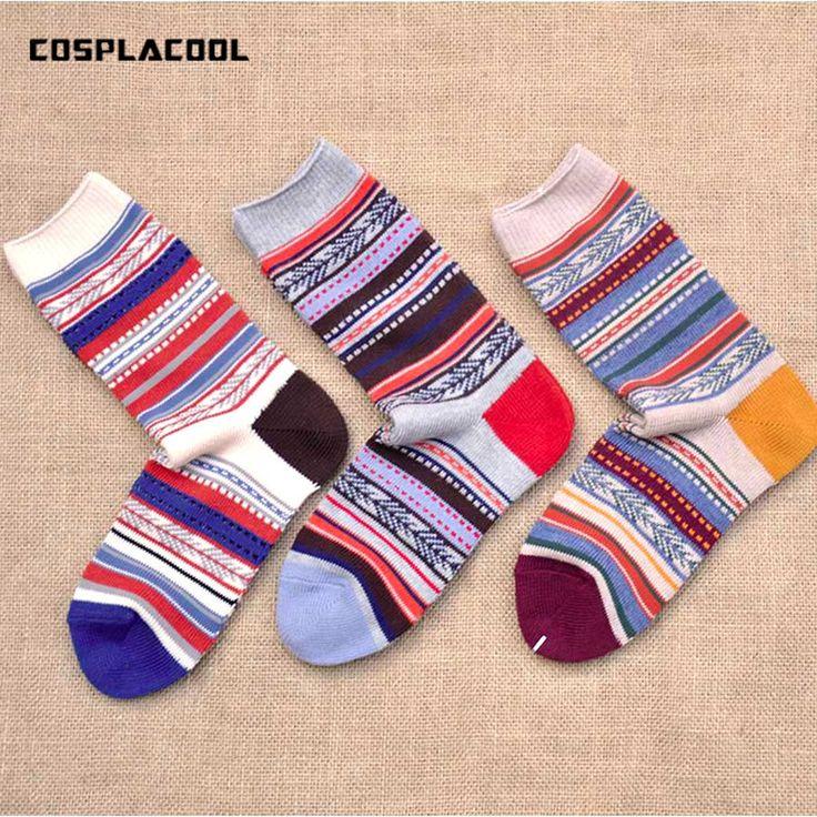 >> Click to Buy << [COSPLACOOL] Harajuku Japan fashion calcetines Retro national style cotton hemp socks big size meia colorful Men Women socks #Affiliate