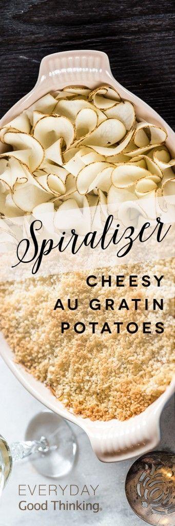 Cheesy Au Gratin Potatoes Pinterest Graphic