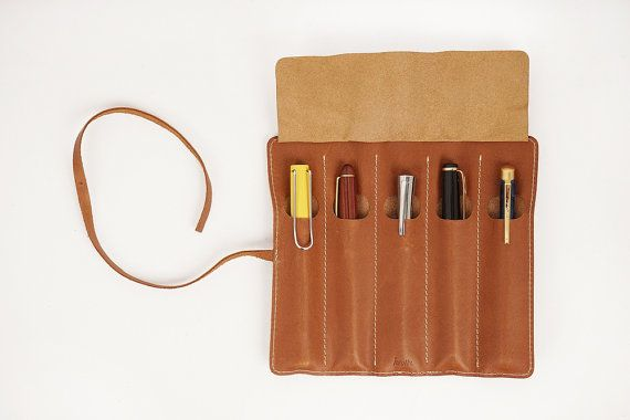 5507 Rolling Fountain pen Pouch 5section by HEVITZ on Etsy