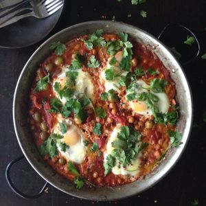 "Baked Egg ""Breakfast Paella""by Chef Mike Ward"