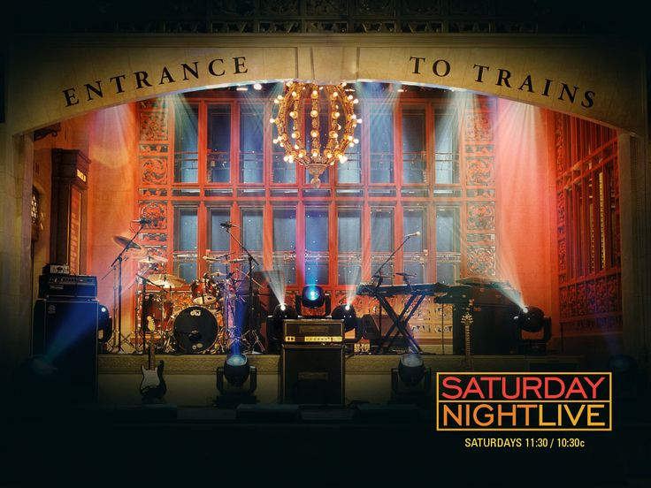 See Saturday night live . . . live.