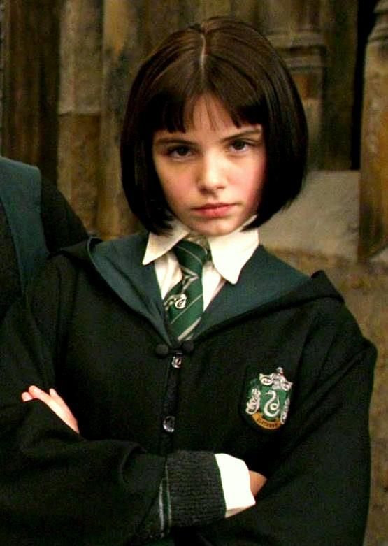 """Pansy Parkinson. This just so happens to be my character in """"Harry Potter and the Obnoxious Voice."""""""