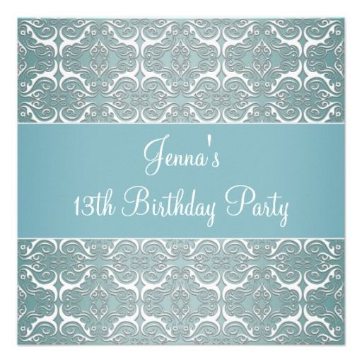 29 best images about 13th Birthday Party Invitations – Invitations for 13th Birthday Party