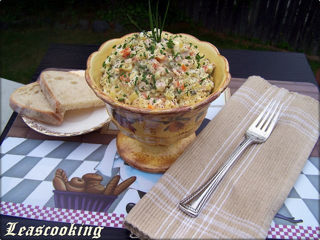 Lea's Cooking: Traditional Russian Olivie Salad «Оливье»
