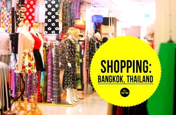 Bangkok Shopping  Shopping in Bangkok