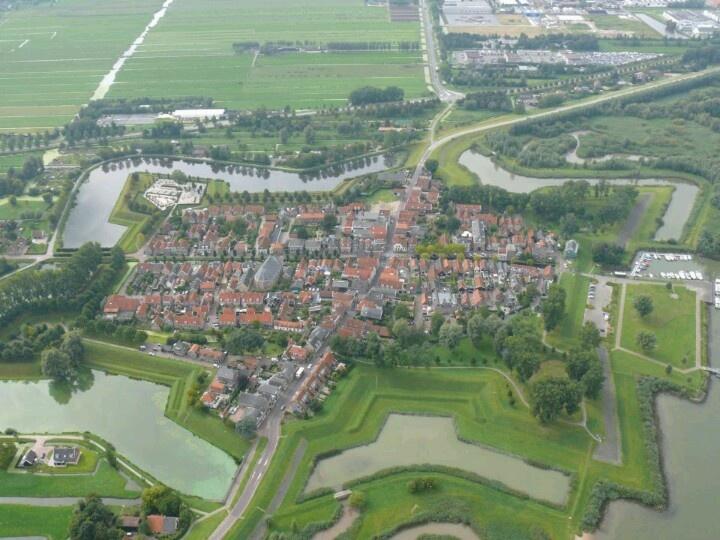 Nieuwpoort van boven. My hometown ..