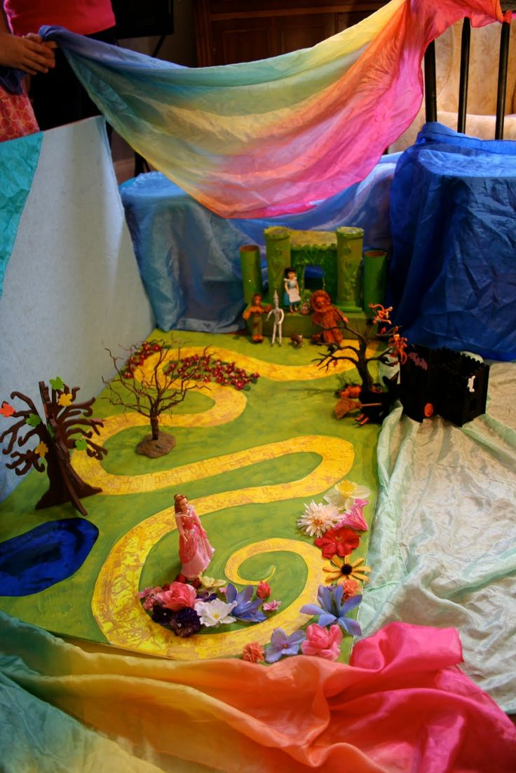 Wizard of Oz playscape