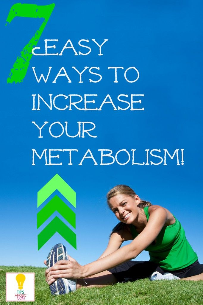 7 Tips How to Improve your Metabolism