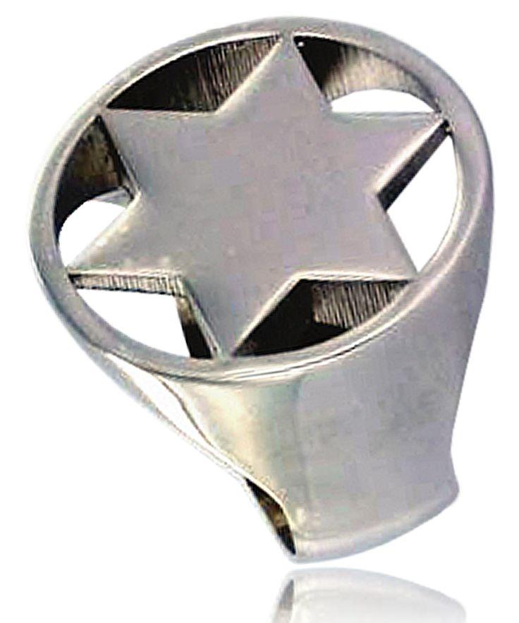Signet-Ring Star Full Small  http://www.frenchtouch-jewelry.com/signet-ring-star-full-small-p-15043.html