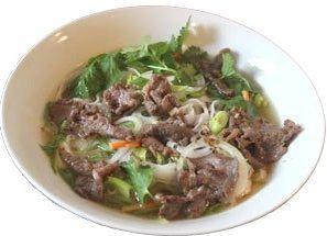 Vietnam Canh thịt bò  Rindfleisch Kräuter Suppe