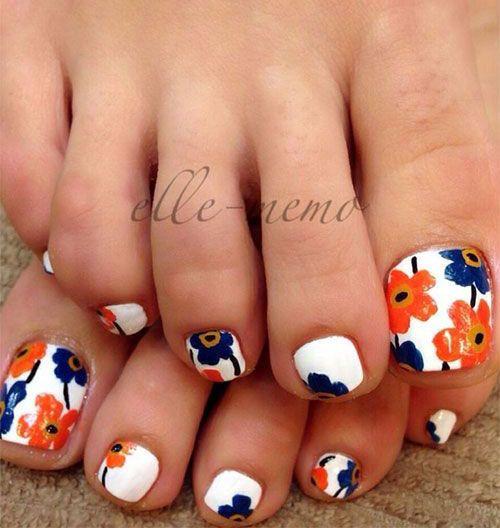 Spring Toe Nail Art Designs - 50 Best Spring Toe Nail Art Designs Images On Pinterest Toe Nail