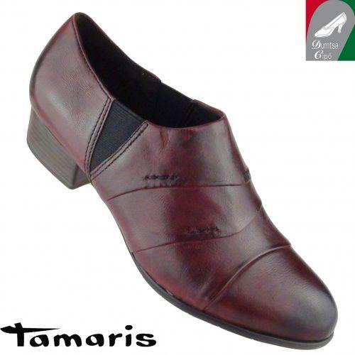 Tamaris női bőr cipő 1-24301-25 501 bordó - Tamaris cipő, táska - Női cipők, márka szerint: - Rieker cipő webáruház, Marco Tozzi webáruház, Jana cipő webáruház, Tamaris, Ara - Dumtsa Cipő