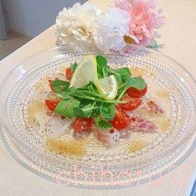 5分で完成♬真鯛のカルパッチョ by ちはる姉さん [クックパッド] 簡単 ...