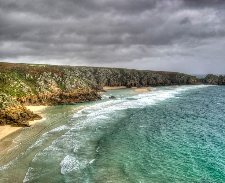 Porthcurno, Cornwall by Kirsty Witko