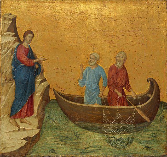 1808777685e3a94c50823aaa3ab8b255--duccio-di-buoninsegna-jesus-calling.jpg (639×599)