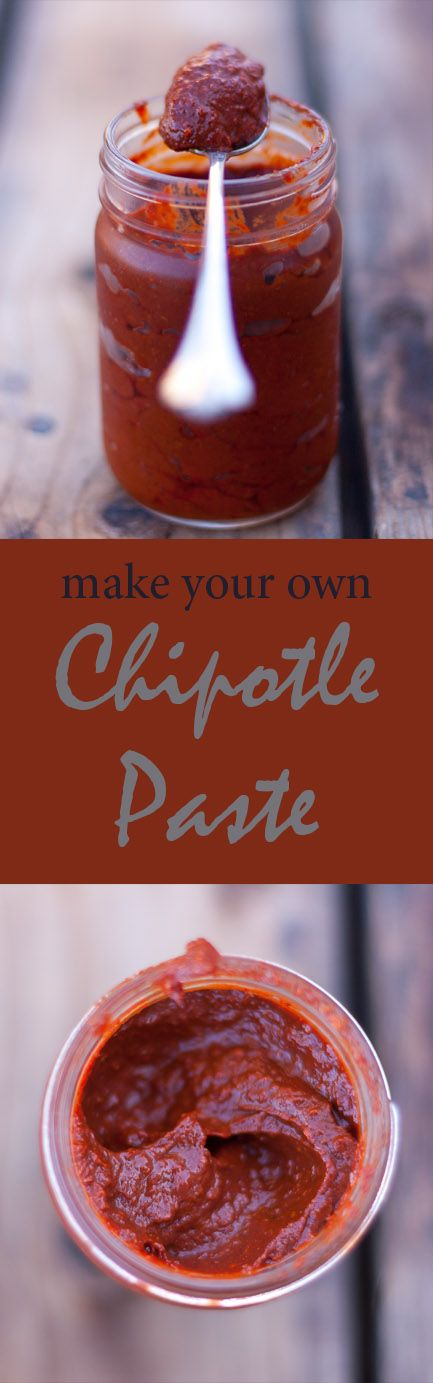 Chipotle Paste is more of a short cut, a tip, something to save you time and energy rather than a recipe. And, I can't see doing it any other way once you try this!