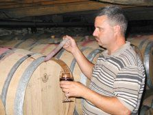 Chateau Lafayette Reneau - Winemaker Tim Miller tests the delicate aging process old-world style. #senecalake #fingerlakes #clrwine