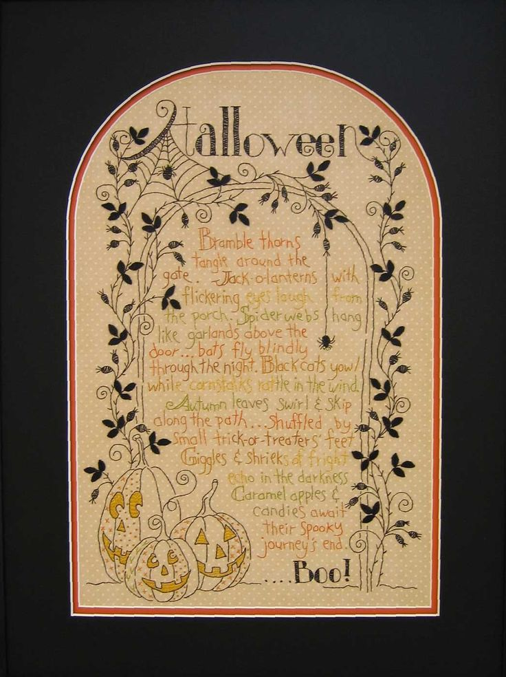halloween sampler crab apple hill studio hand embroidery diy inspiration vintage style halloween embroidery project quilt block or paper piecing - Halloween Hand Embroidery Patterns