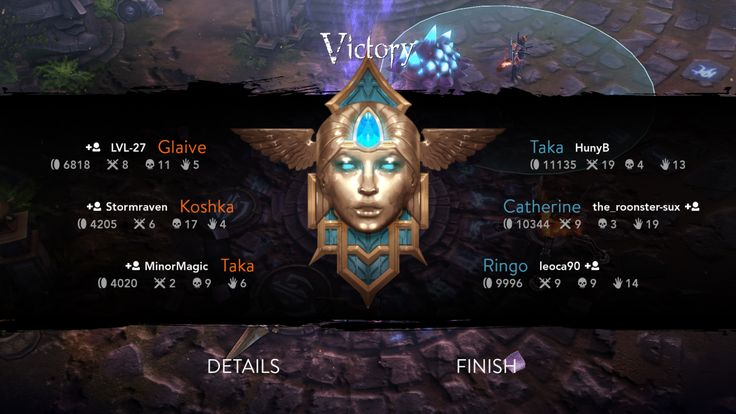 Vain Glory Game. Awesome win! 19-4