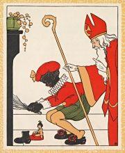 Illustraties uit kinderboeken over Sinterklaas | Koninklijke Bibliotheek