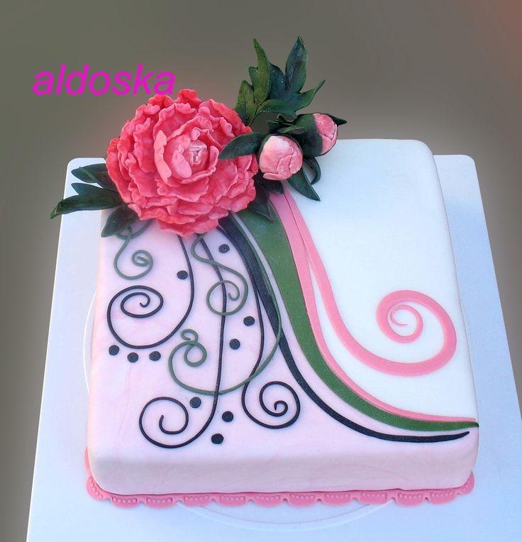 Mini Henna Cake — Anniversary Cakes