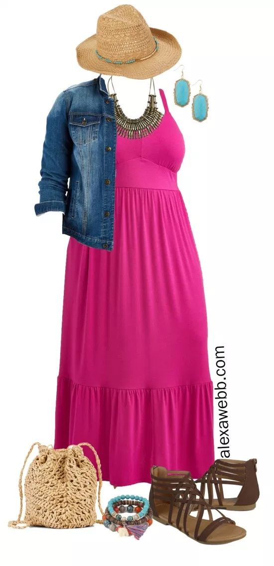 Plus Size Casual Summer Dress 3