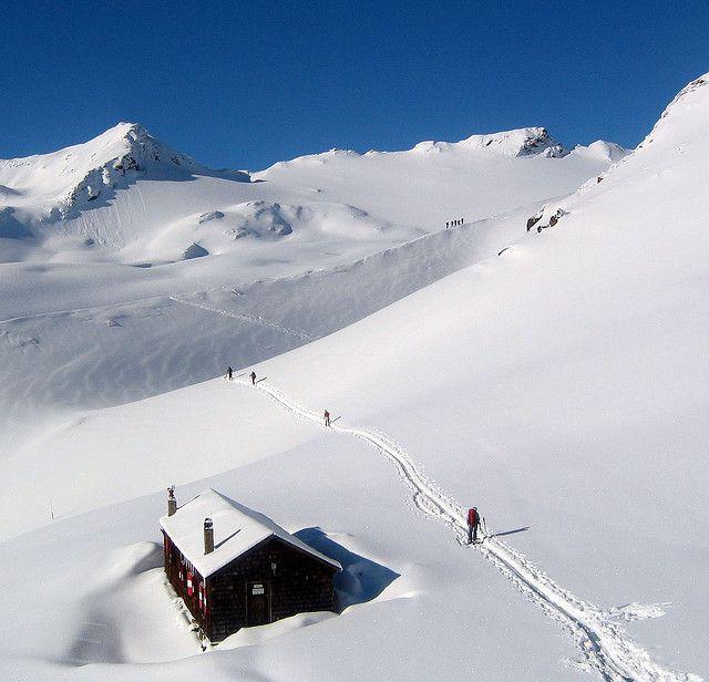 ski touring in austria :-) :-)