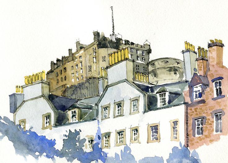 Edinburgh Castle Oct. 2010