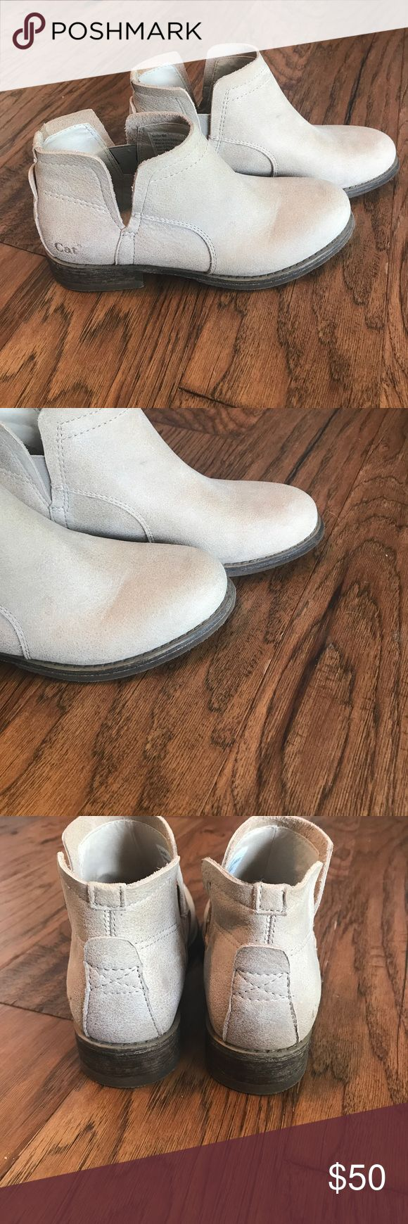 """CAT footwear """"summer core boots"""" Never worn. Too snug. Would fit about a 6.5 or a small 7! Caterpillar Shoes Ankle Boots & Booties"""