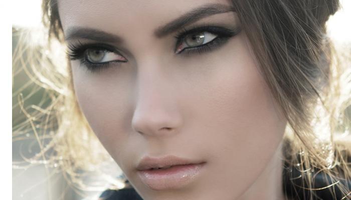 макияж голубые глаза пепельно-русый цвет волос