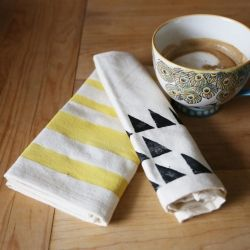 Learn how easy it can be to personalized your tea towels with these simple printing methods