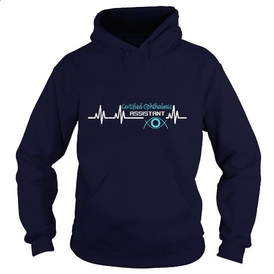 CERTIFIED OPHTHALMIC ASSISTANT - HEART SOUND - #under #capri shorts. MORE INFO => https://www.sunfrog.com/LifeStyle/CERTIFIED-OPHTHALMIC-ASSISTANT--HEART-SOUND-Navy-Blue-Hoodie.html?60505