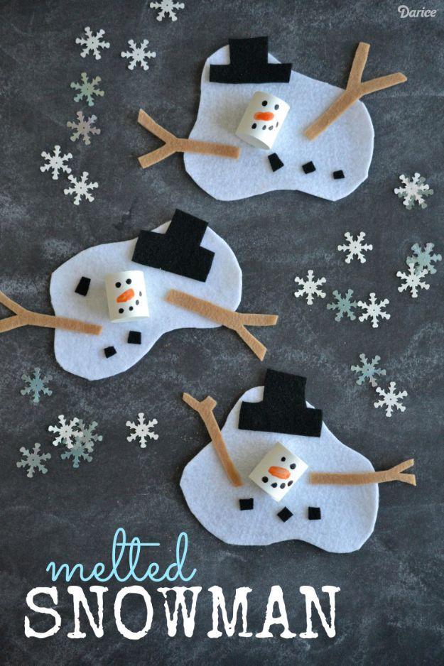 15 Erstaunlich einfach, aber schöne Winter-Bastelarbeiten, die Ihre Kinder gerne machen würden