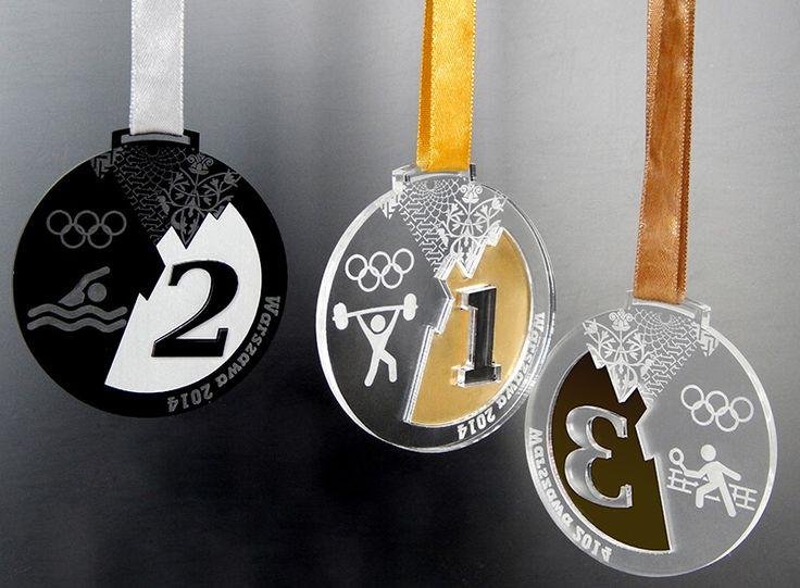 Medale sportowe Soczi