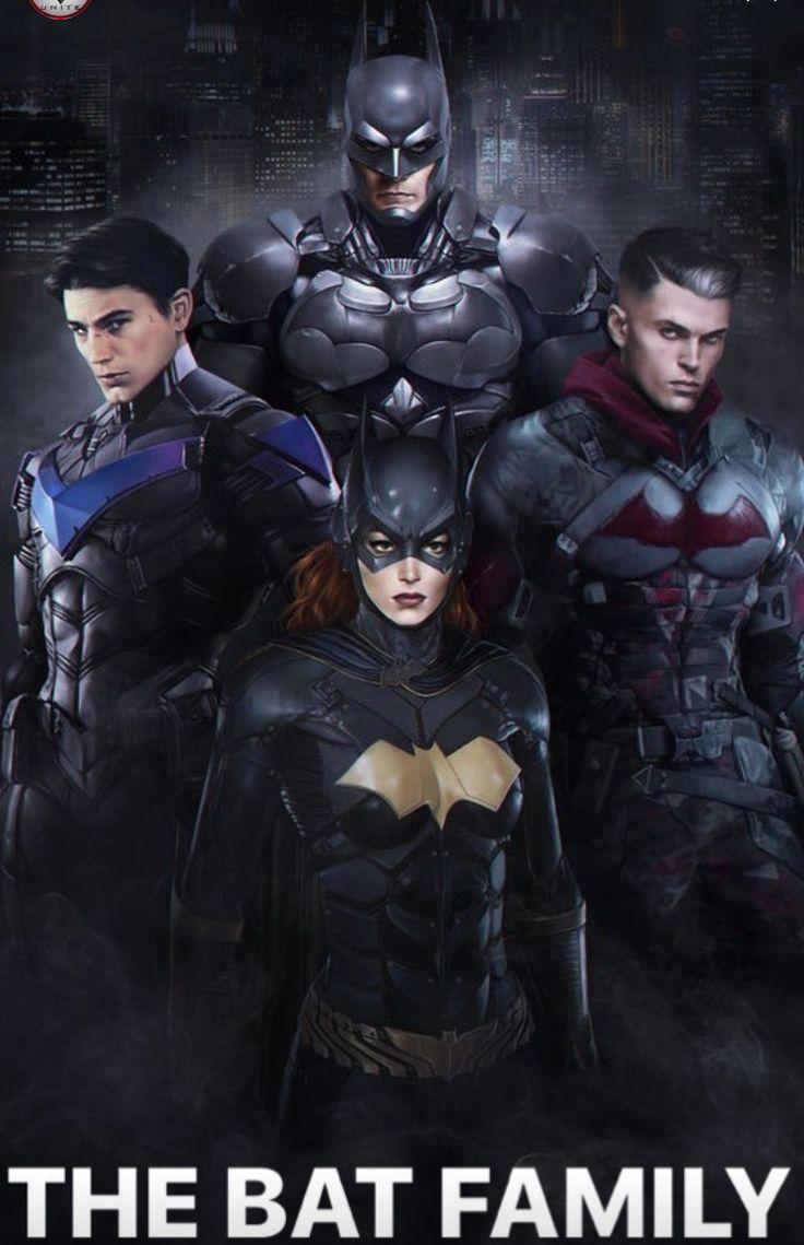 Arkham Series Bat Family