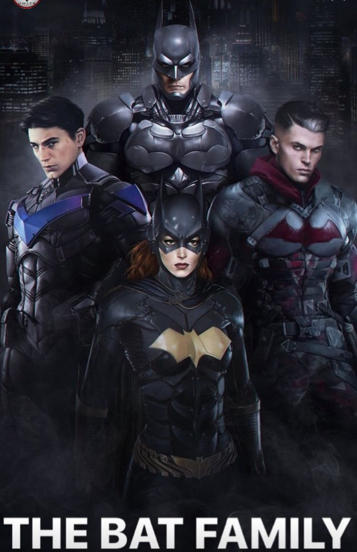Arkham Series Bat Family