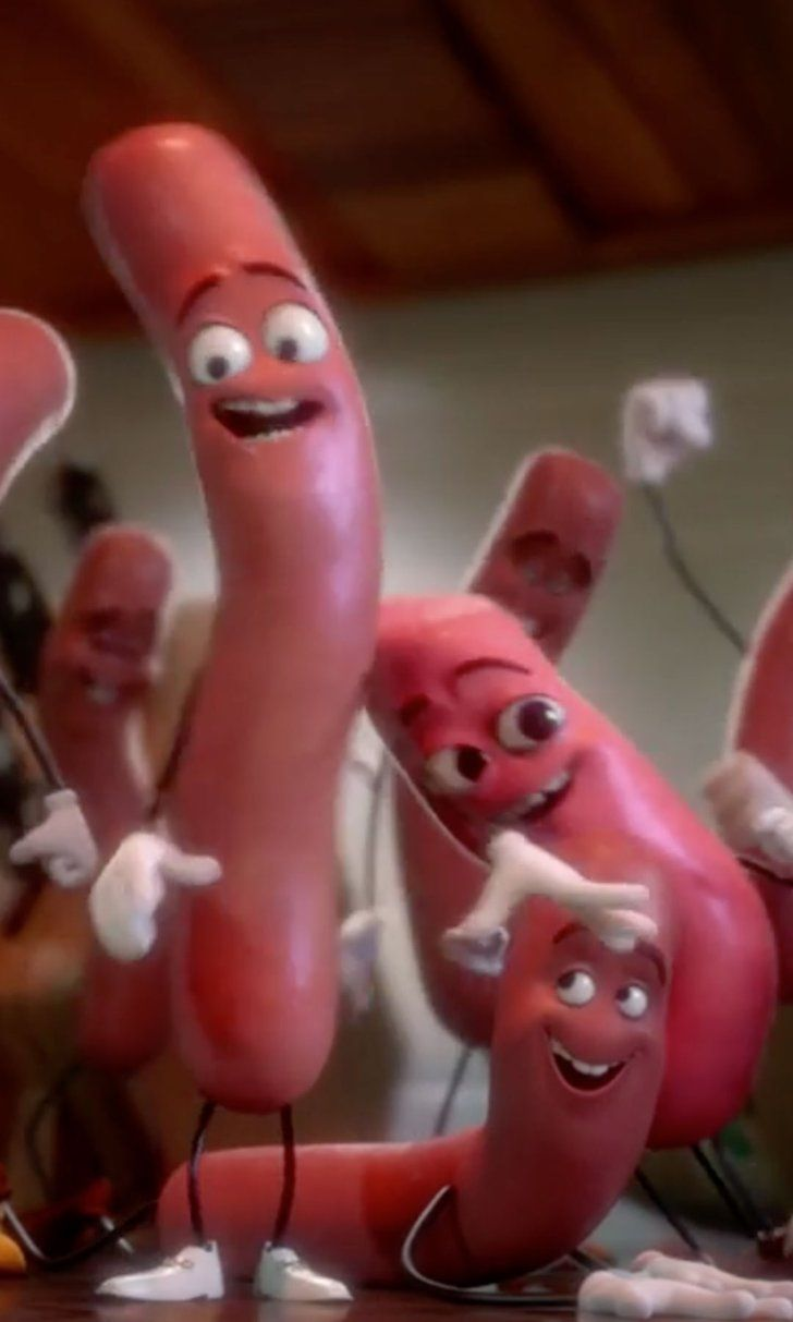 Pin for Later: Watch the Raunchy, NSFW Trailer For Seth Rogen's Sausage Party (If You Dare)