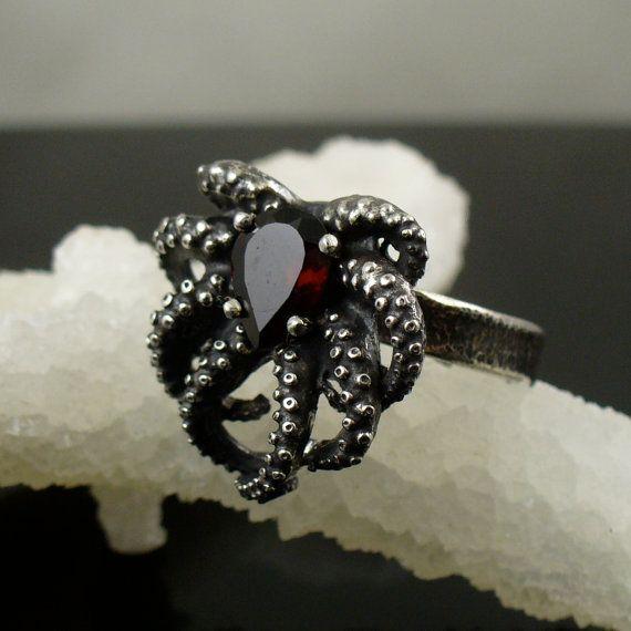 best 25 octopus ring ideas on octopus jewelry