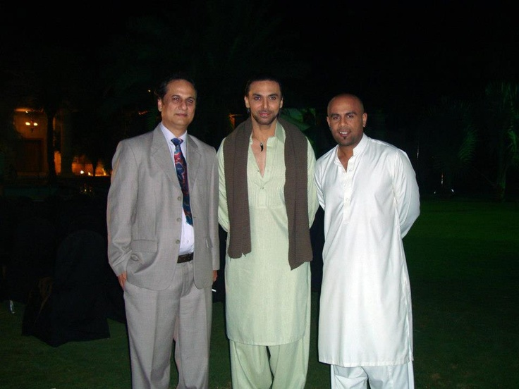 with Mehtab Mirza, Humayun Bin Rather and Ehtesham Ahmed