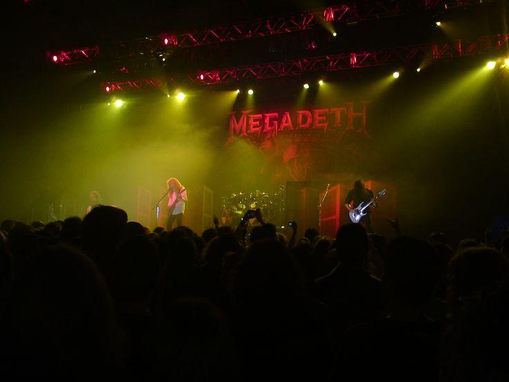 Megadeth - Marquee Cork 14/06/10
