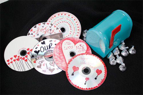 Valentine CD Cluster & CD Box